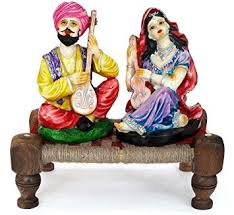 Small Picture Buy TIED RIBBONS Rajasthani couple idols home decor items in
