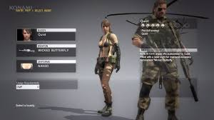 Metal Gear Solid 5 How To Make Quiet Your Buddy