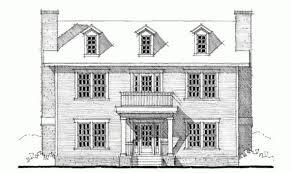 georgian house plans. Eplans Georgian House Plan Three Bedroom Square Feet Plans