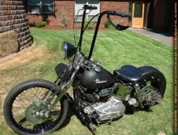 1973 harley sportster ironhead bobber motorcycle with springer