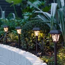 lighting in garden. Solar Stake Lights Lighting In Garden D