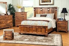rustic wood bedroom furniture carved wood bed rustic pine bedroom