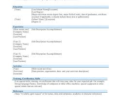 Job Resume Format Download Professional Template Free Doc Modern Pdf