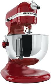 Kitchen Aid Professional Mixer 5 Plus Empire Red Everything Kitchens Kitchenaid Stand