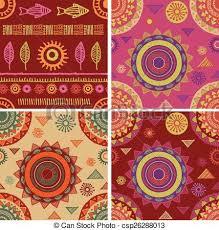 Bohemian Patterns Fascinating Bohemian Tribal Ethnic Seamless Patterns And Backgrounds Bohemian