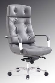 contemporary leather high office chair black. modrest forbes modern grey highback office chair contemporary leather high black