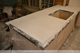 concrete countertops molds edging 4 diy 46 depict