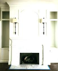 how to redo a fireplace surround painted mantels ideas ste