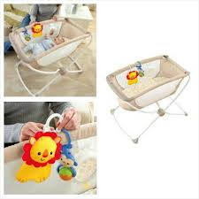 Fisher Price Bassinet After Sofia outgrew the Little Lounger we  transitioned to this bassinet