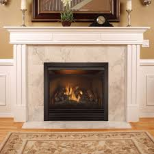 heating full size 32 vent free zero clearance gas fireplace insert with remote