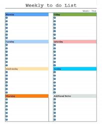 Weekly Do List Template To Printable Calendar 2018 Lccorp Co
