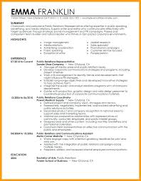 Corporate Communications Resume Inspiration Pr Resume Template Simple Resume Examples For Jobs