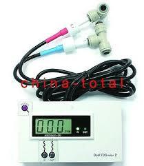 <b>HM Digital DM-2EC</b> In-Line Dual EC Conductivity Monitor Meter RO ...
