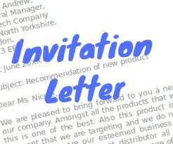 Formal Invitation Letter For Business Meeting Format Formal Letter
