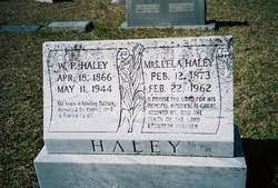 Lela Wright Haley (1873-1962) - Find A Grave Memorial
