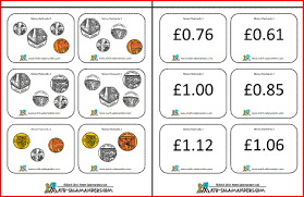 You will receive a digital pdf download with 20 printable coloring pages for you to print at home in high quality resolution. Printable Money Flashcards Us And Uk Coins