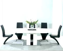 black gloss round dining table white gloss dining black dining table 6 chairs special dining room