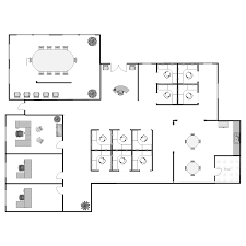 Free Office Layout Design Template Floor Plan Templates Draw Floor Plans Easily With Templates