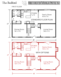 The Bedford Two Story Floor Offers A Total Of 2434 Square Foot Of Living  Area. This Spacious Plan Presents A House With A Kitchen, ...