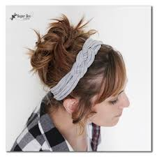 knotted headband from tshirt yarn a how to tutorial