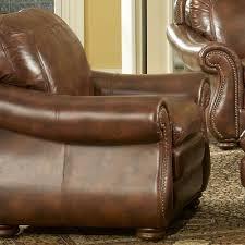 leather italia usa presidential p9913 duplin pb chair in 2941 pecan