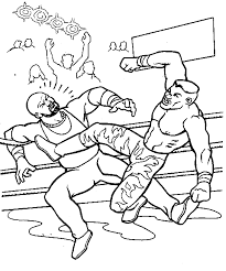 Small Picture Wrestling Coloring Pages Coloring Pages Online