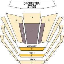 Mann Seating Chart Ted Mann Concert Hall Venues Concerts Tickets The