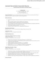 Accounting Assistant Resume Examples Resume Bank