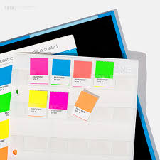 Pantone Pastel Neon Chip Book Coated Uncoated
