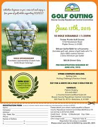 Bcrcc Golf Outing Flyer On Student Show