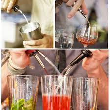 <b>Stainless Steel Liquor Spirit</b> Alcohol Grape Pourer Flow Wine Bottle ...