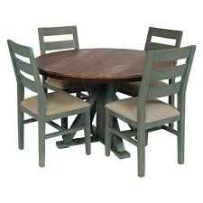 teal dining rooms. Picture Of Antique Teal Dining Table And 4 Chairs Rooms F