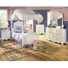 girls canopy bedroom sets. Amazon Com Exquisite Youth Canopy Bedroom Set By Ashley With Furniture Kids Sets Prepare 7 Girls