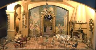 fit for a fairytale the cinderella drawing room boasts ornate furniture a grand piano