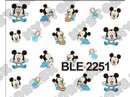 Nálepky Na Nechty Mickey 5