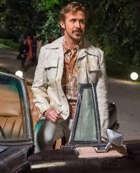 the nice guys ryan gosling holland march white jacket
