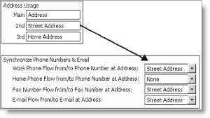 Synchronizing Work Phone Fax And Email Example