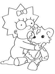 Kids N Fun 58 Kleurplaten Van Simpsons