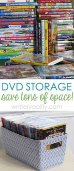Best DVD Storage Solution : Tired of your large DVD collection taking up  too much space