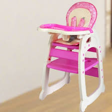 Email Sg Florists - Baby Tea Time High Chair ( Pink ) Hamper Products