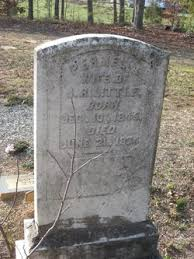 Permelia Todd Little (1845-1874) - Find A Grave Memorial