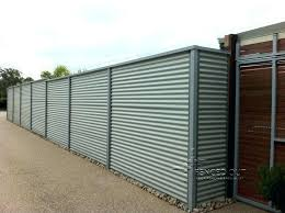 corrugated steel fence panels large size of screen metal design rug designs lawn cor