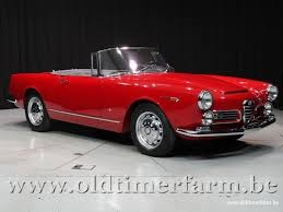 alfa romeo spider 1966. Brilliant Romeo Alfa Romeo 2600 Spider 1966 To