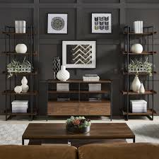 Corey Rustic Brown 3-Piece Entertainment Center by iNSPIRE Q Modern - Free  Shipping Today - Overstock.com - 25522020