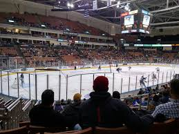 Swamp Rabbit Hockey Seating Chart Snhu Arena Section 111 Row N Seat 4 Manchester Monarchs