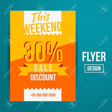 sale flyers abstract vector creative sale flyers can be used as poster or