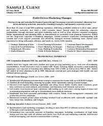 Best Resume Format Sample Good Resume Format Samples Best Marketing