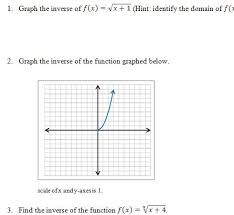 Inverse Functions Worksheet And Answer Key Free 25 Question