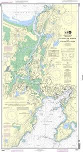 Noaa Nautical Chart 13281 Gloucester Harbor And Annisquam
