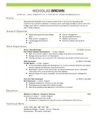 Resume Pictures Resume Work Template